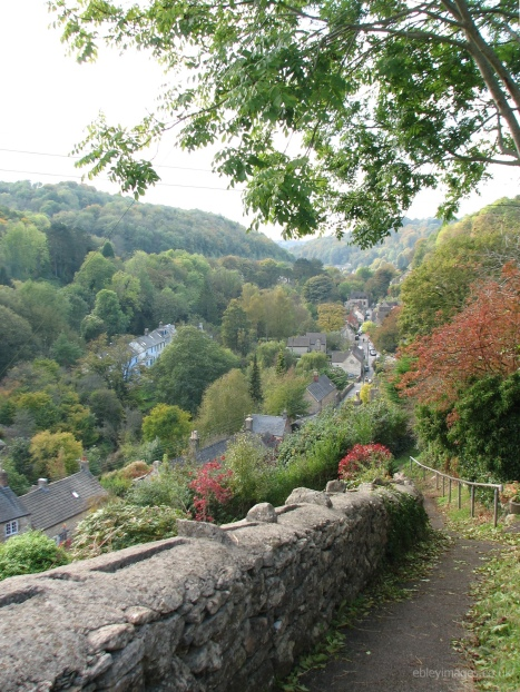 Chalford High Street from path near Coppice Hill (3)