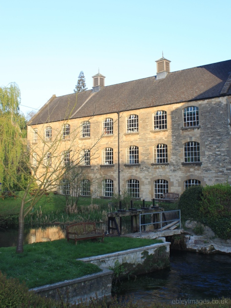 Brimscombe Mill in early morning sunshine