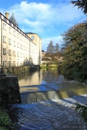 Ebley Mill and River Frome