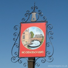 Stonehouse Town Sign